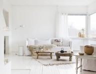 imagen 29 ideas para decorar con blanco sobre blanco