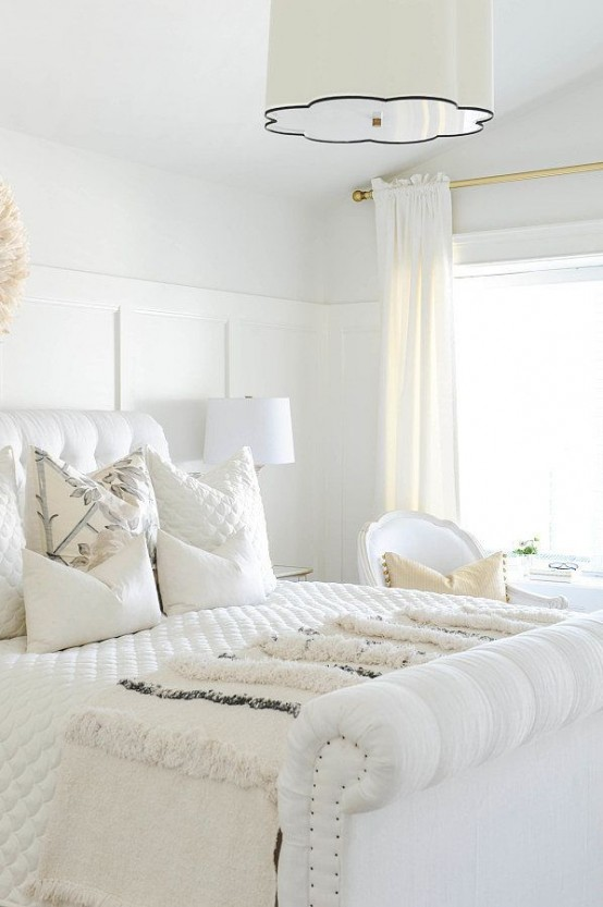 29 ideas para decorar con blanco sobre blanco