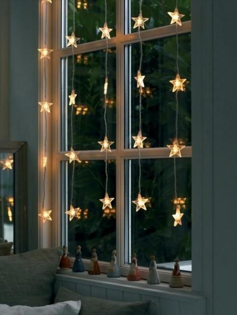 Decoracion Navidena De Interior Con Luces - Decoracion-navidea-interiores