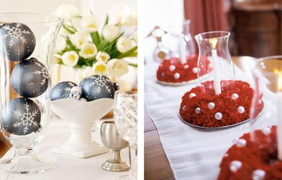 Propuestas para crear centros de mesa navide os for Centros navidenos