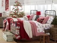 imagen 16 ideas para decorar con cojines y almohadas navideñas