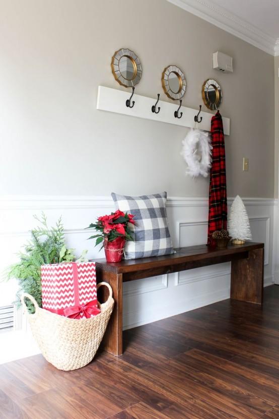 Ideas para decorar tu recibidor esta navidad - Como decorar un recibidor moderno ...