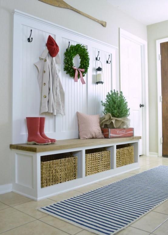 Ideas Para Decorar Tu Recibidor Esta Navidad - Recibidor-decoracion