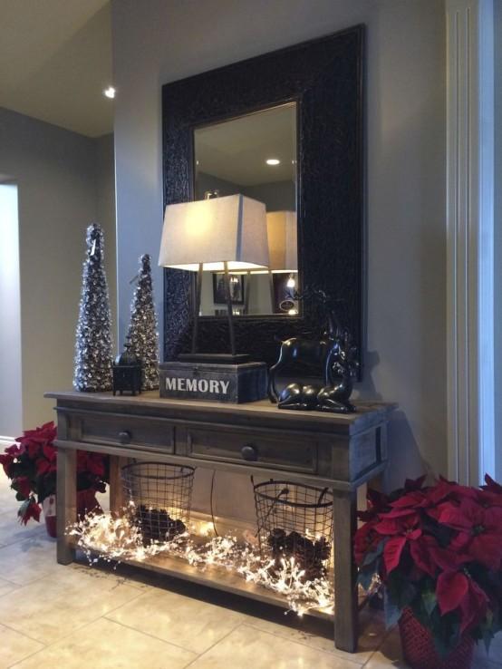 Ideas para decorar tu recibidor esta Navidad