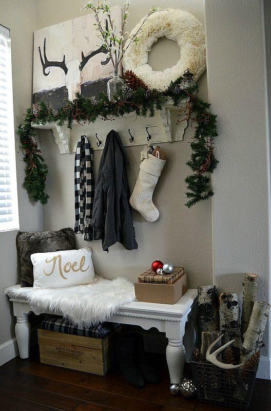 Ideas para decorar tu recibidor esta navidad - Ideas para decorar el recibidor ...