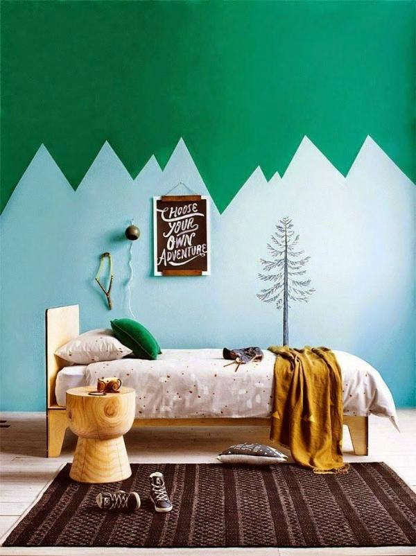 Formas De Pintar Paredes.Ideas Creativas Para Pintar Las Paredes De La Casa