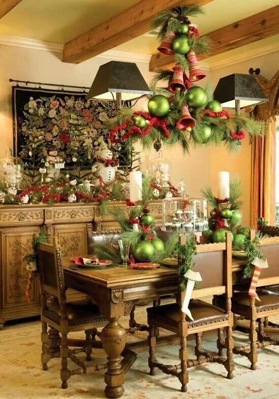 Ideas para decorar el comedor en navidad - Decorar el comedor ...