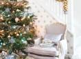 imagen La belleza del dorado en la decoración navideña