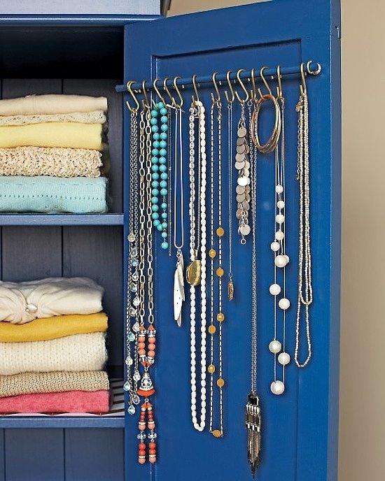 10 ideas para organizar tus joyas con estilo
