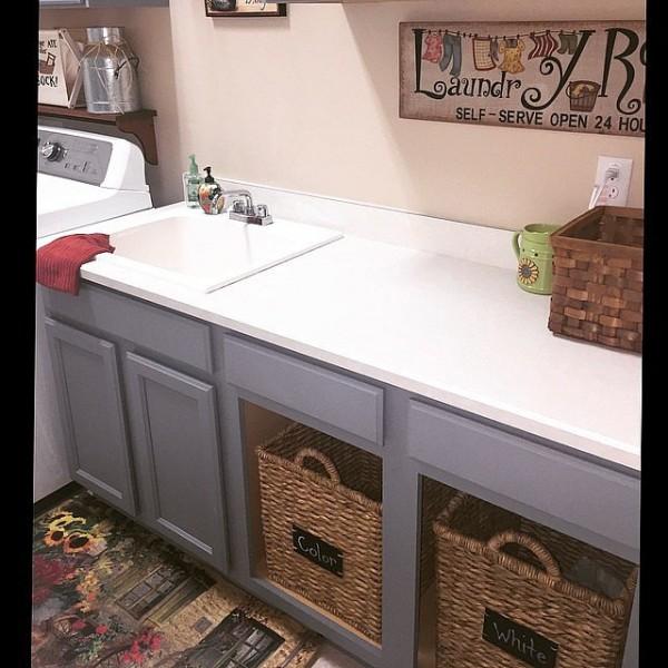 Mueble para lavar ropa for Pilas de lavar con mueble