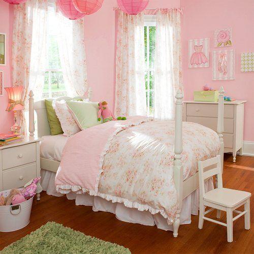 Bellas habitaciones infantiles en estilo shabby chic - Estilo shabby chic decoracion ...