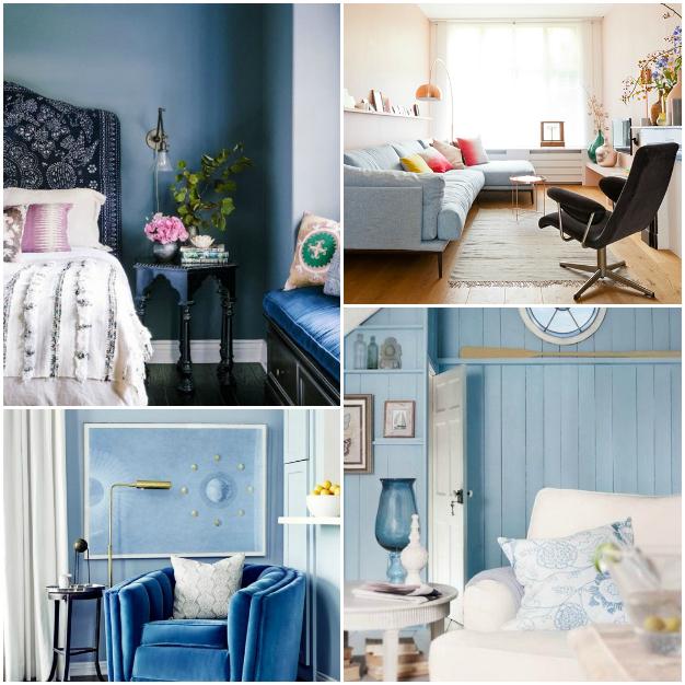 Ideas deco con el color azul \'Serenity\' de Pantone
