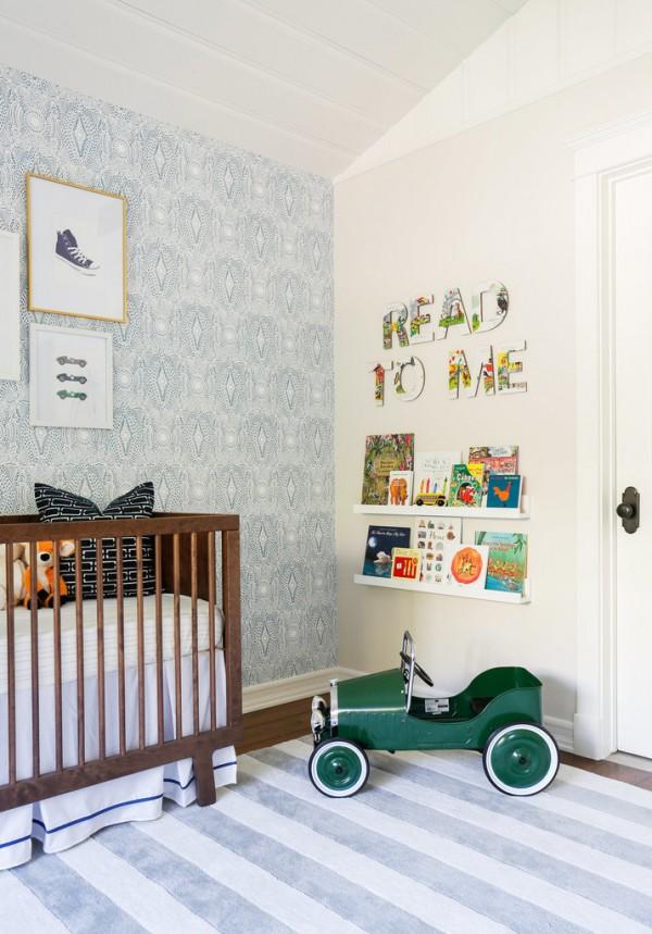 Una habitacin para beb con mucho estilo