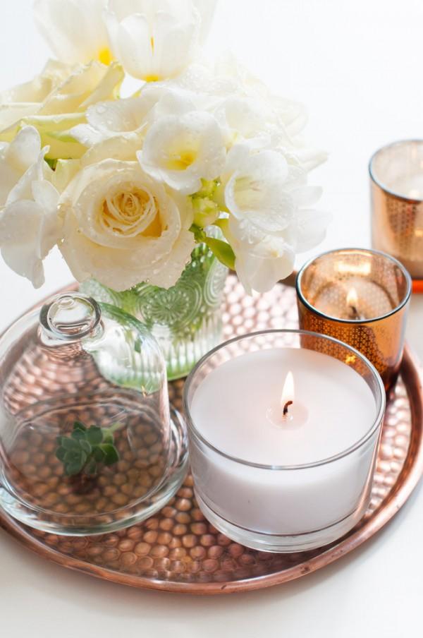 12 decoraciones con velas muy originales - Decoracion con velas ...