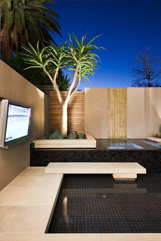 18 inspiraciones para una terraza minimalista for Design minimalista