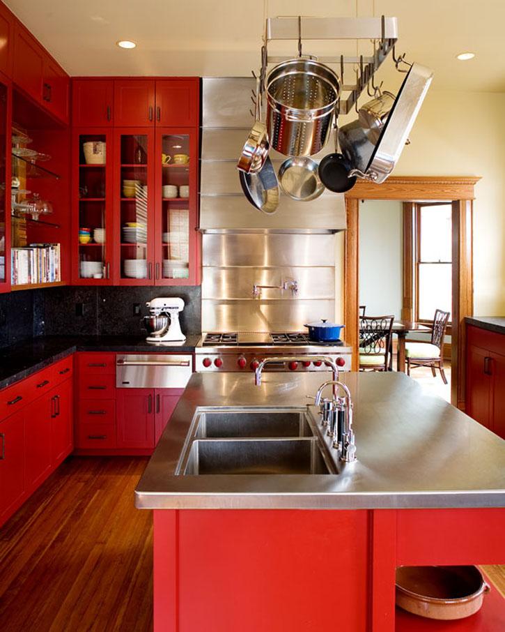 20 combinaciones de color para cocinas modernas - Colores para cocina ...