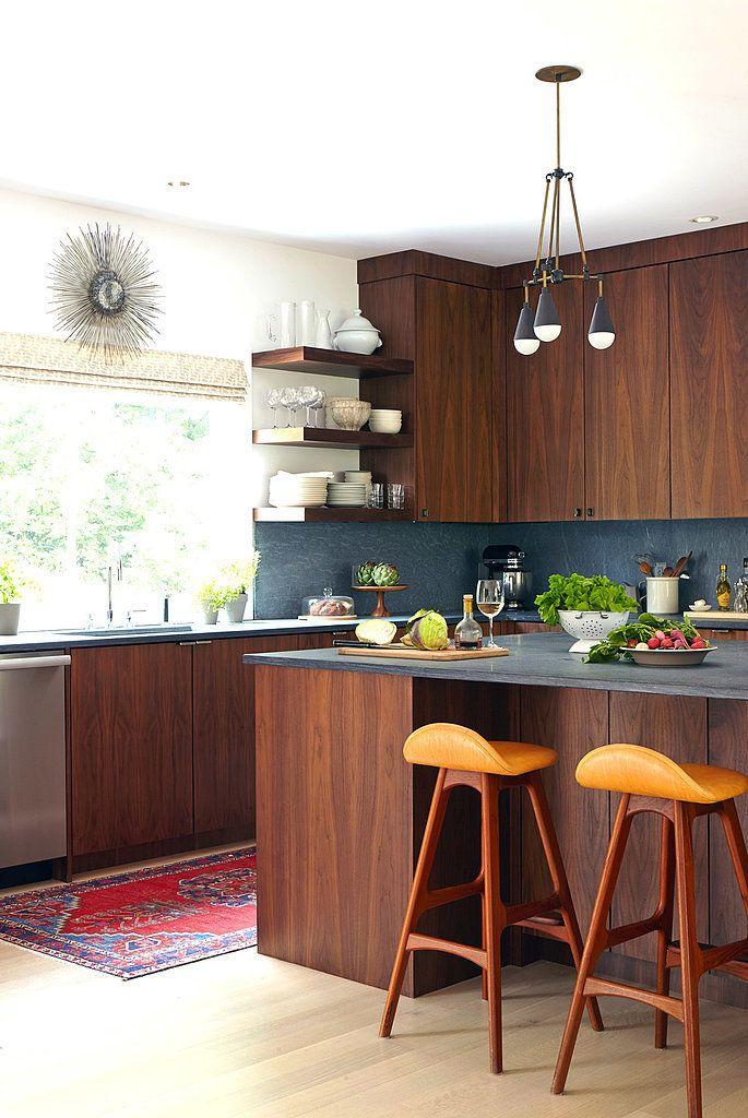 20 combinaciones de color para cocinas modernas for Colores de pared para cocina