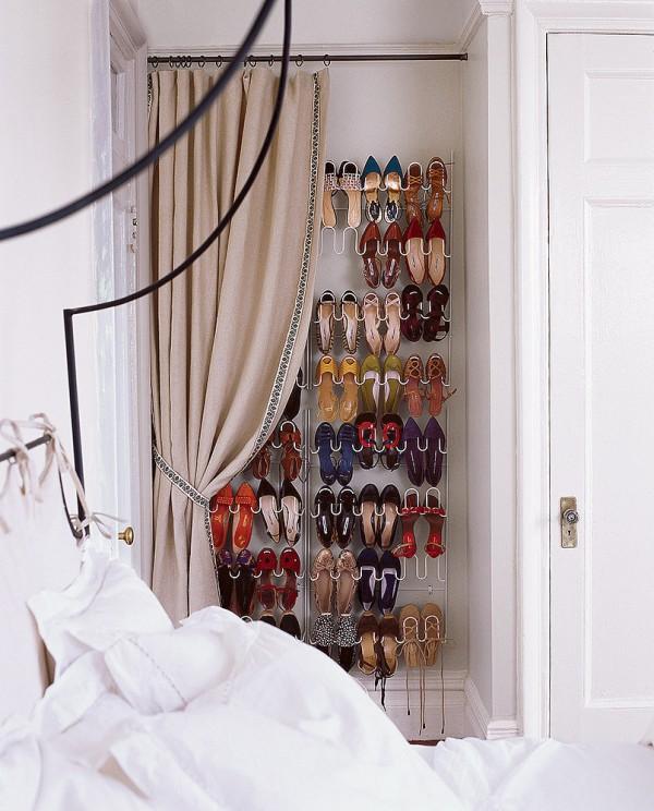 9 originales ideas para guardar zapatos - Ideas para zapateros ...