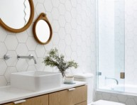imagen Cuartos de baño estilo años 50