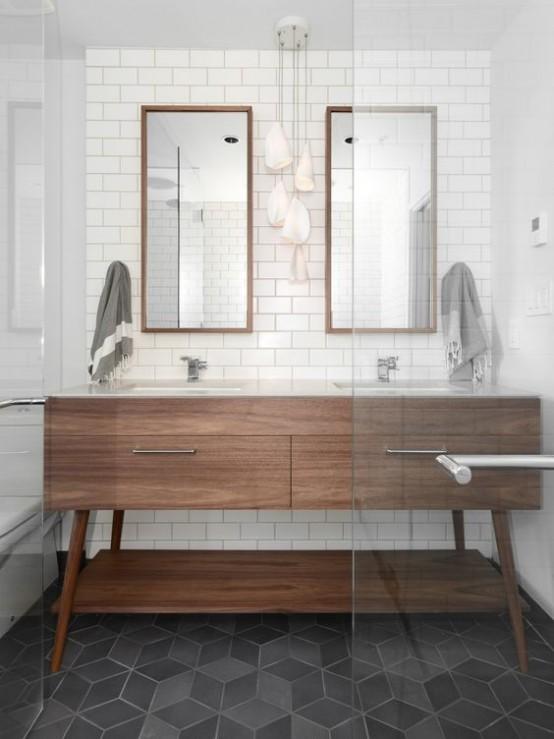 cuartos-de-bano-estilo-anos-50-18 | Guía para Decorar