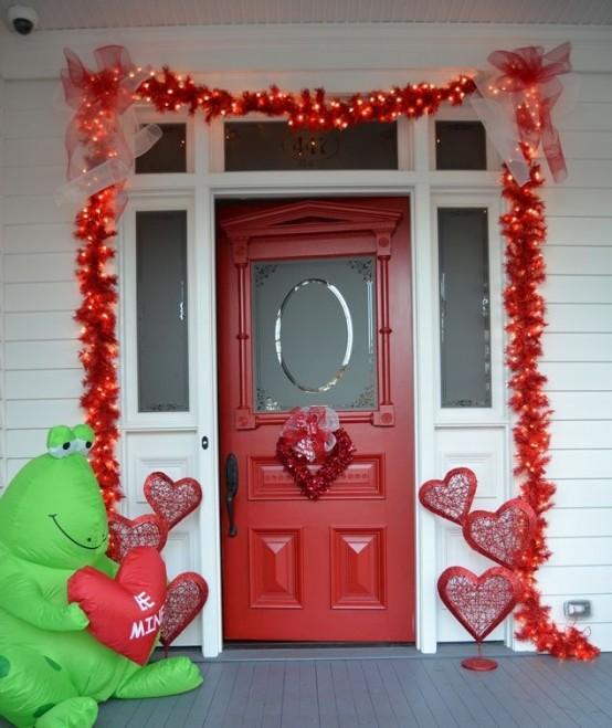 Ideas para decorar el exterior en san valent n - Decorar para san valentin ...