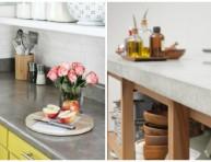 imagen Encimeras de cemento para la cocina