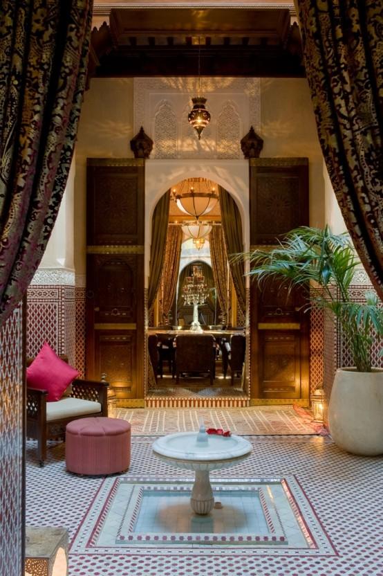Patios de estilo marroquí 7
