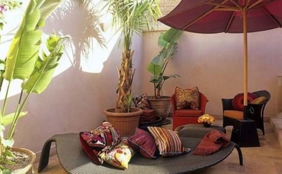 Patios de estilo marroquí 10