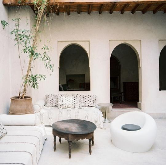 Patios de estilo marroquí 12