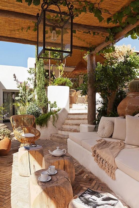 Ideas frescas para tu terraza de verano - Ideas para cerrar una terraza ...