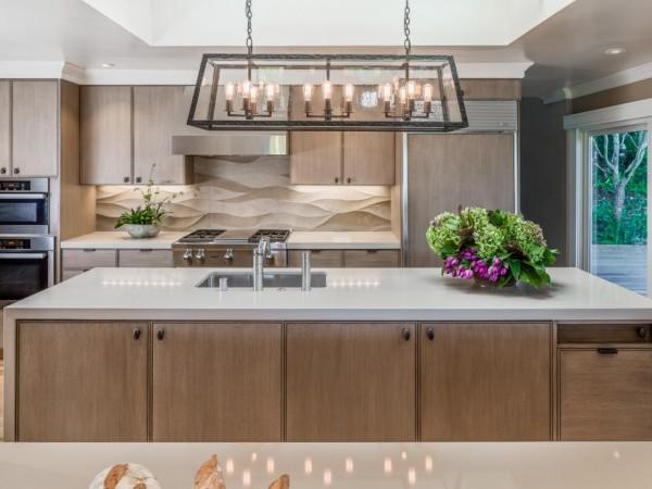 Llamativos frentes de cocina en diversos materiales - Frentes de cocina ...