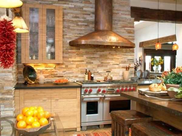 Llamativos frentes de cocina en diversos materiales for Materiales de cocina