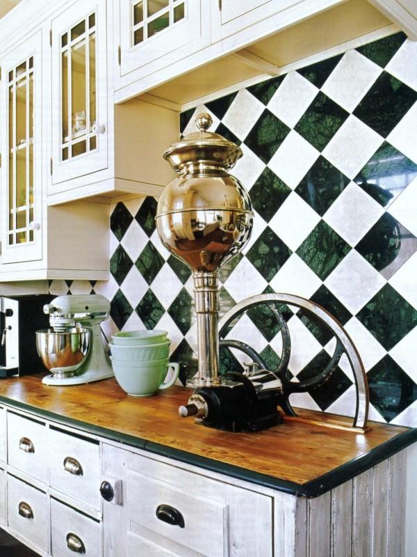 Llamativos frentes de cocina en diversos materiales - Material de cocina ...