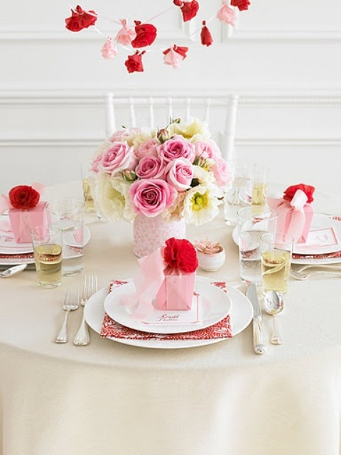 Una mesa rom ntica para san valent n for Mesa para san valentin