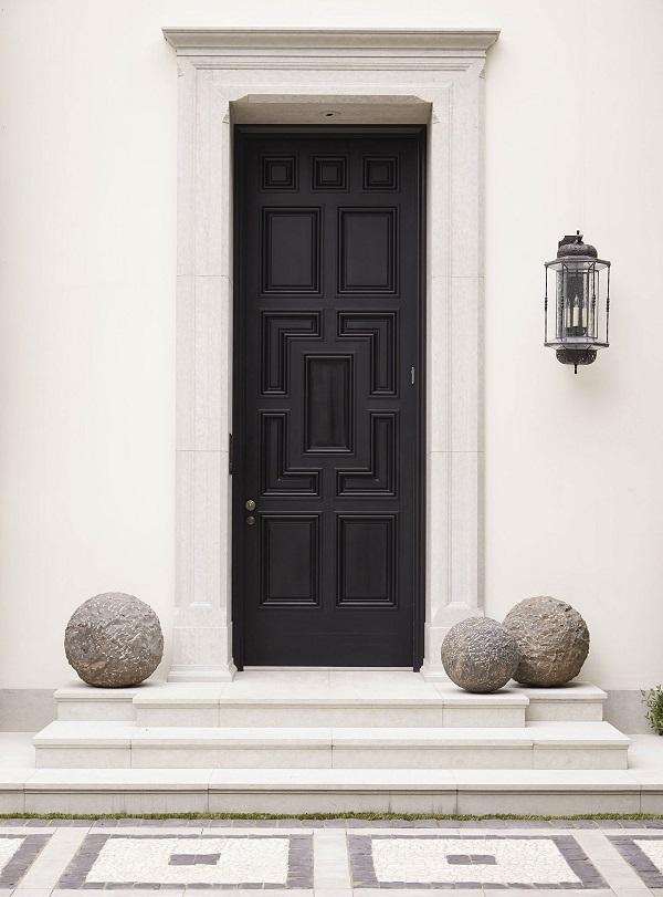 10 decorativas puertas de entrada for Puertas con vidrieras decorativas