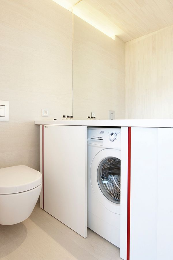 Compact Washer Dryer Combo Stackable 15 formas creativas de disimular la lavadora