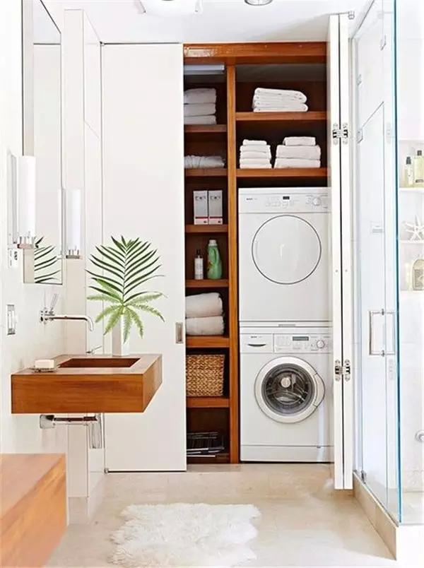 15 formas creativas de disimular la lavadora
