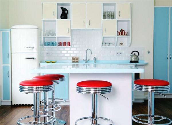 Elementos imprescindibles para una cocina retro for Elementos cocina