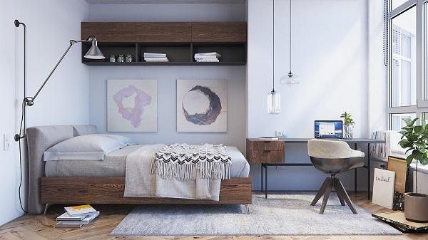 Habitaciones decoradas en estilo escandinavo - Habitacion decoracion industrial ...