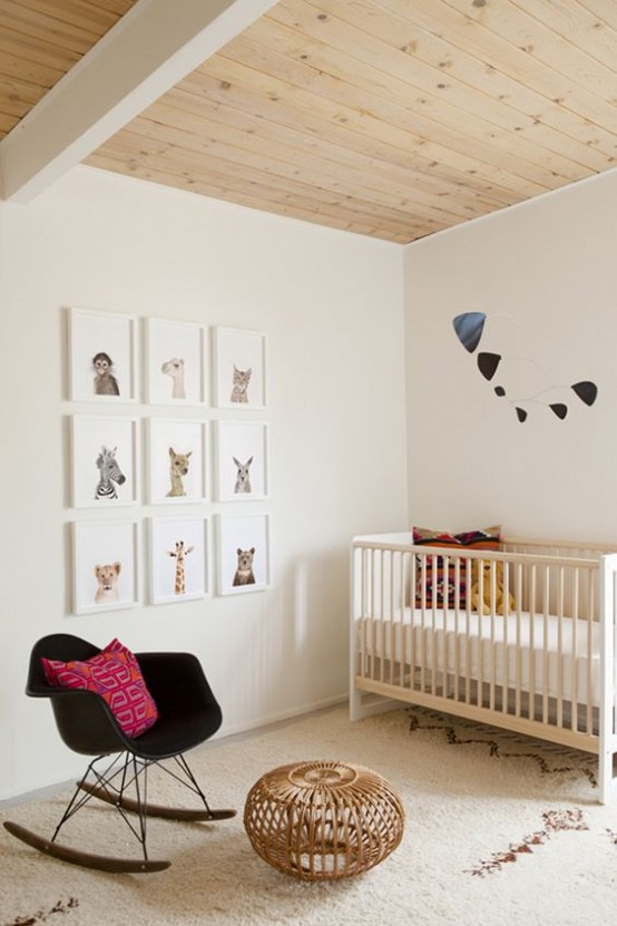 Habitaciones infantiles en estilo retro for Habitaciones para ninas estilo vintage