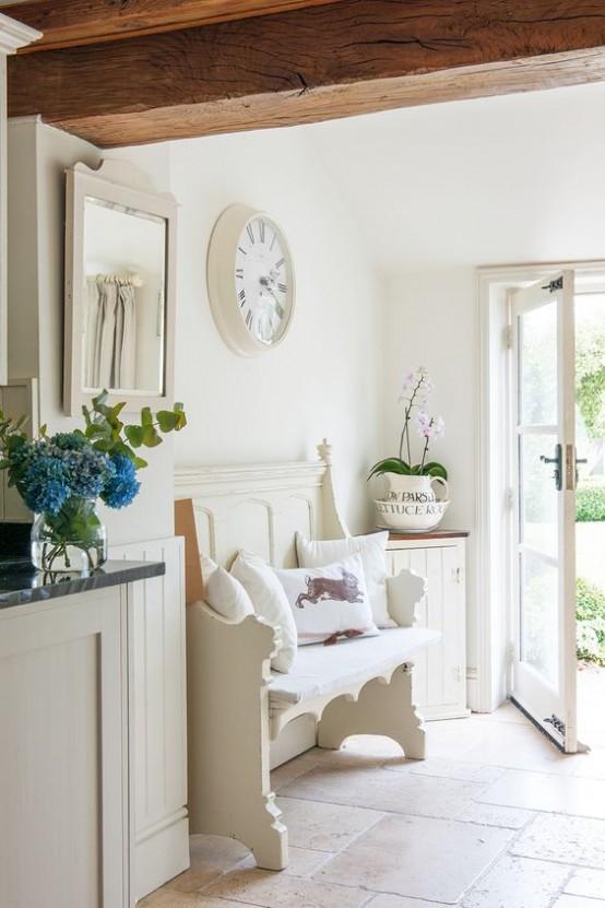 Ideas para decorar el recibidor en estilo shabby chic for Ideas decoracion recibidor