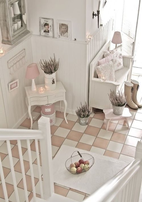 Decoracion Baños Estilo Shabby Chic:Pinterest Shabby Chic Hallway Decorating Ideas