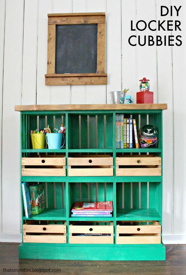 Diy Crate Bookshelf Kids