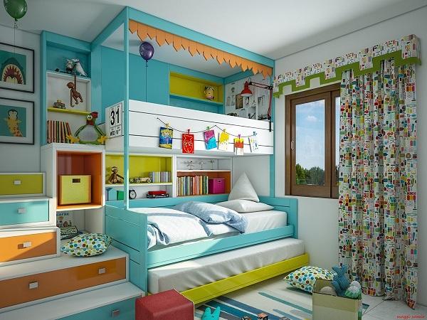 Supercoloridas habitaciones infantiles y juveniles - Decorar habitaciones infantiles ...