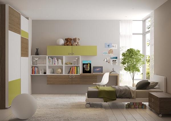 Supercoloridas habitaciones infantiles y juveniles