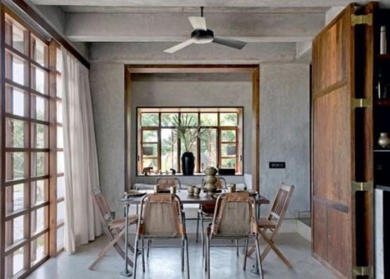 una-casa-de-hormigon-y-madera-en-la-india-04