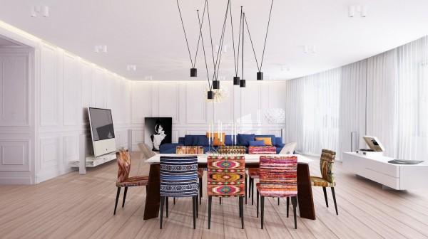 20 inspiradores comedores modernos for Arredamento originale casa