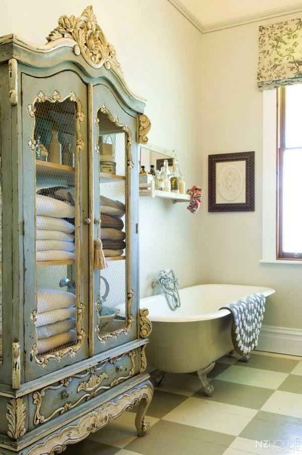 Baños Estilo Frances:Shabby Chic Bathroom