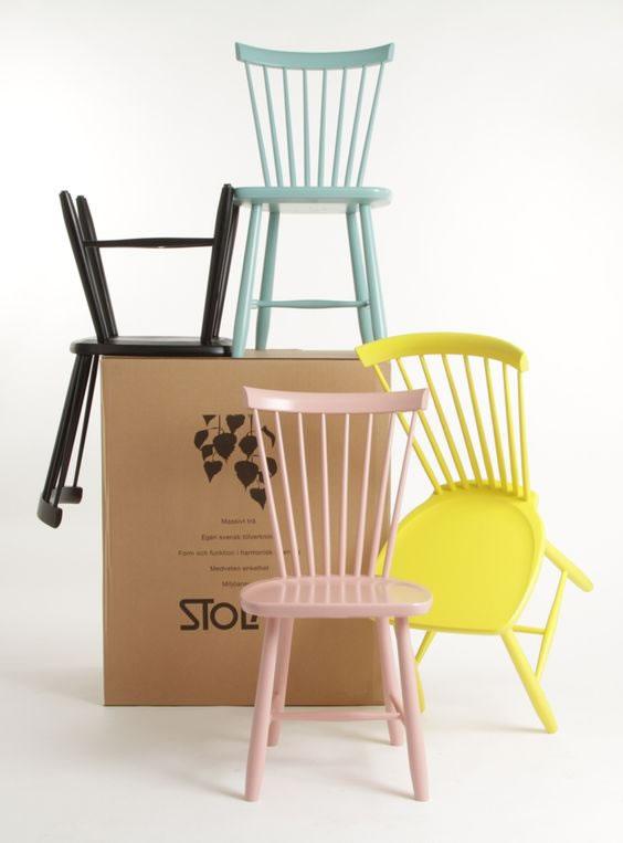 C mo utilizar sillas de dise o para decorar la casa for Sillas de diseno blancas