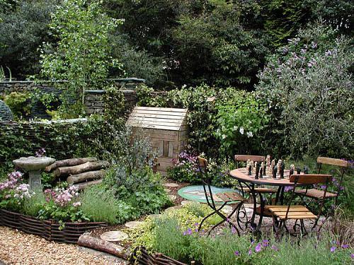 Ideas para un jard n urbano - Mantenimiento de un jardin ...
